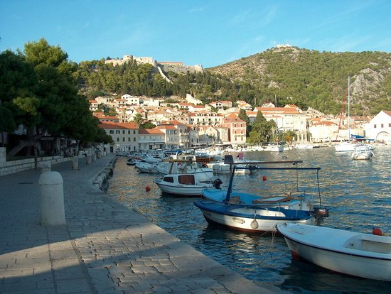 Hvar Fortress: Fortress on the top of mountain