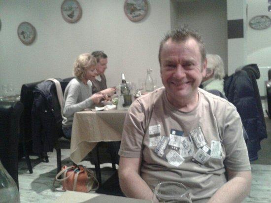 la cas'a Tom: Harry happy as Lary in St Lary
