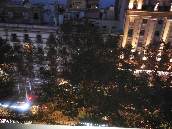 Hotel Royal Ramblas: 6th Floor View