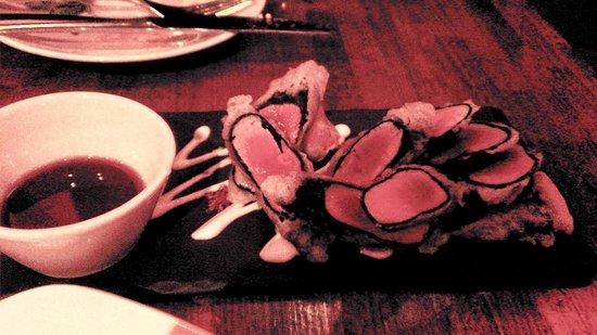 Elements : Fresh BS Salmon and Ahi Tuna Tempura - Delicious...