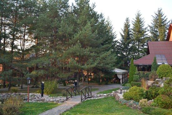 Zolota Gora Hotel-Rancho: Территория