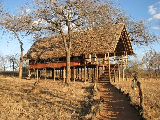 Kikoti Safari Camp: Tent 18 - our tent