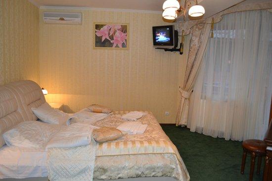 Zolota Gora Hotel-Rancho: Спальня