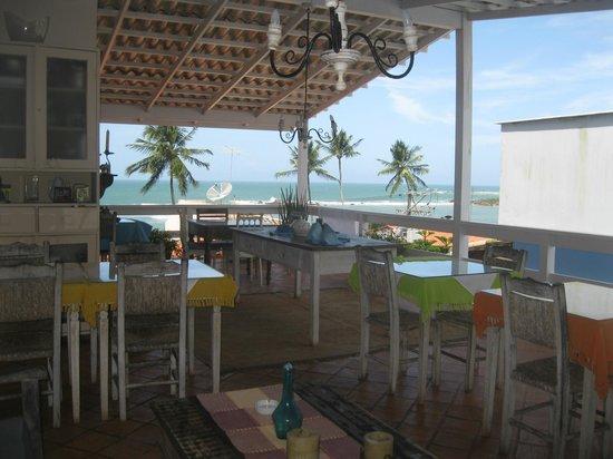 Pousada Via Brasil: Area do café da manhã