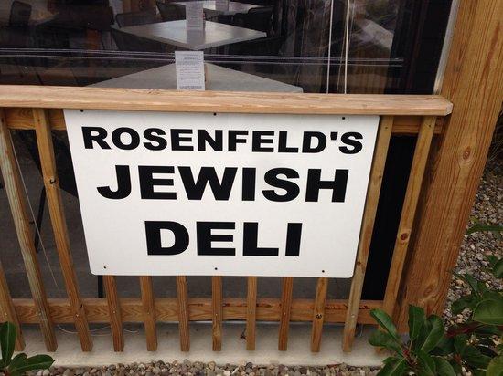 Rosenfeld's Jewish Delicatessen: Rosenfelds.