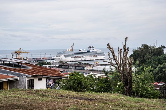 Syltravel Day Tours: View of Ship from a hill