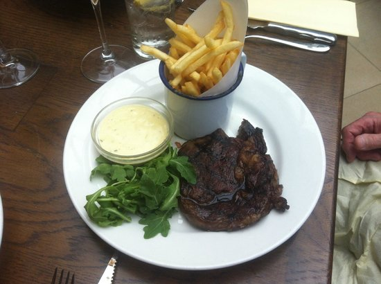 Baroosh - Hertford: Ribeye steak