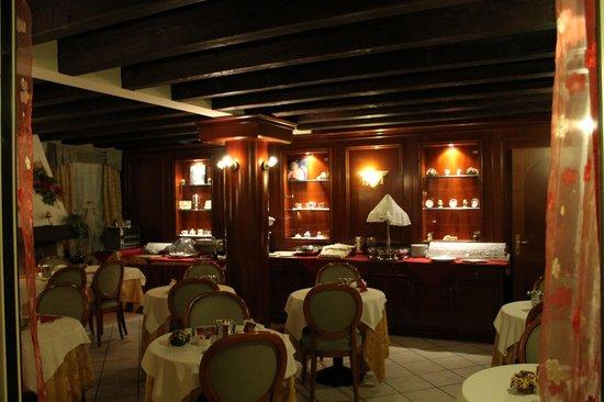 Hotel Corte Estense: sala colazione