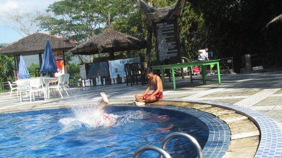 Toraja Heritage Hotel: Pool area
