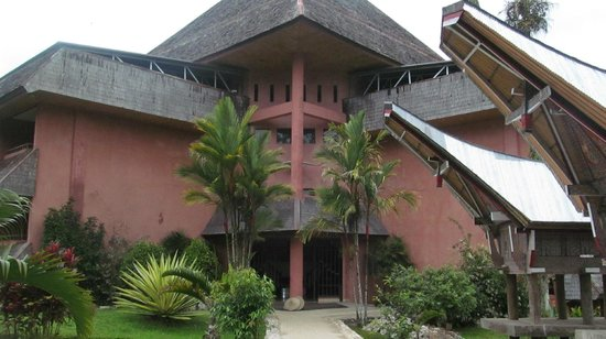 Toraja Heritage Hotel: Outside view of Room Section