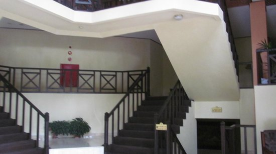 Toraja Heritage Hotel: Entranceway to sleeping section