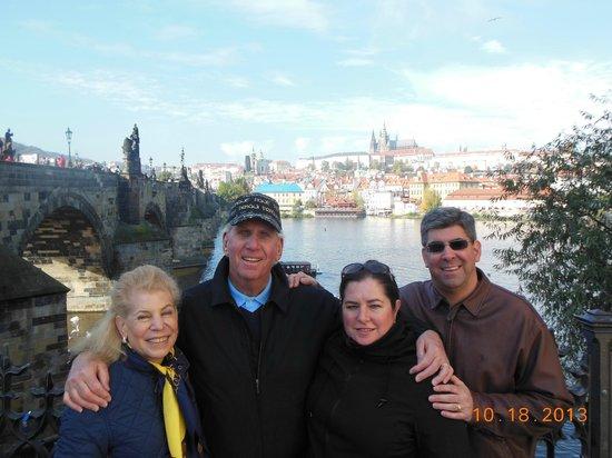 Kamil & Pavlina Prague Guide - Private Tours: THE DOUGLAS FAMILY IN PRAGUE OCTOBER 2013