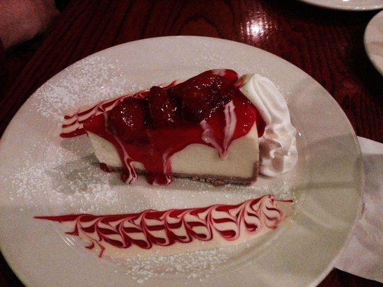Cities Grill & Bar: Cheesecake was very good and nice portion