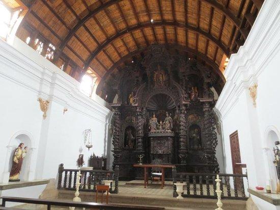 Casa Hacienda San Jose: inside the chapel beside hotel