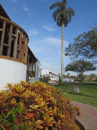 Casa Hacienda San Jose: walkway along the grounds