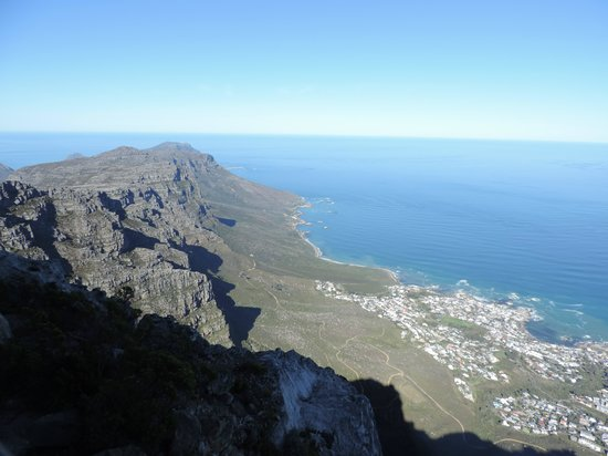 Cape Cadogan: View from table mountain
