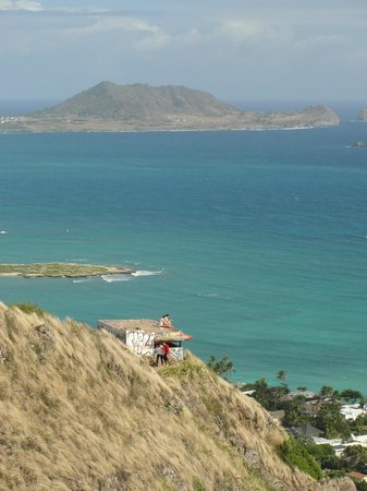 The Hula Breeze: view from one pillbox