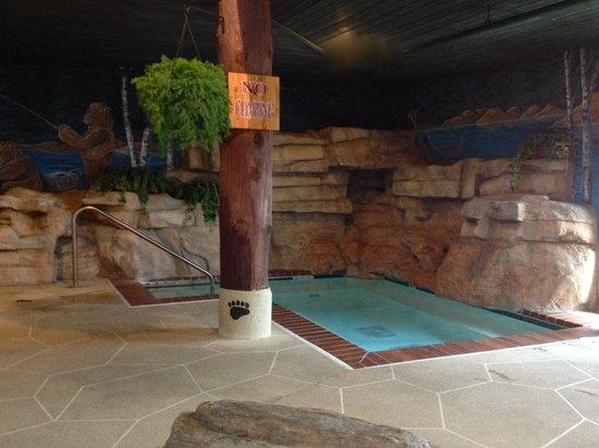 Stoney Creek Inn: Spacious hot tub