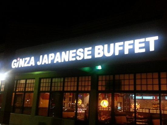 Ginza Japanese Buffet: cartel