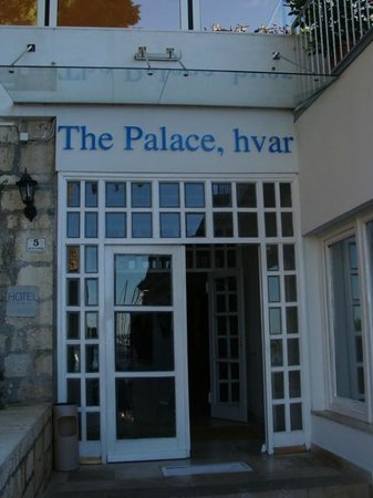 The Palace Hvar Hotel: Hotel's entrance