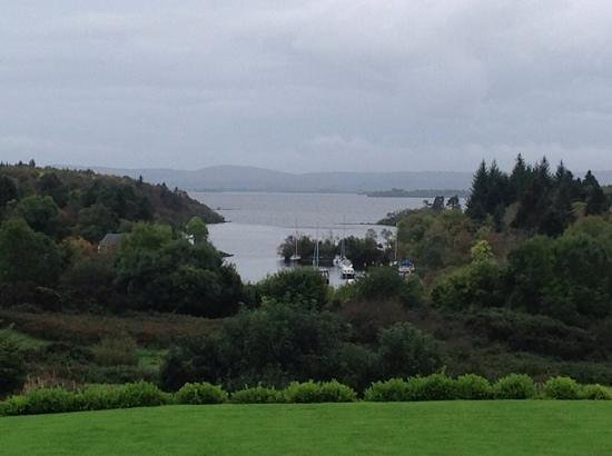 The Lodge at Ashford Castle: room with a view