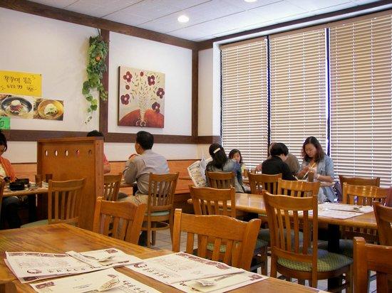 Interior Picture Of Hwang Bu Ja Restaurant Parsippany