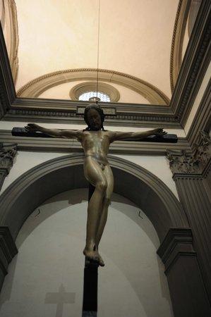 Eglise Santo Spirito : Crocifisso Michelangelo