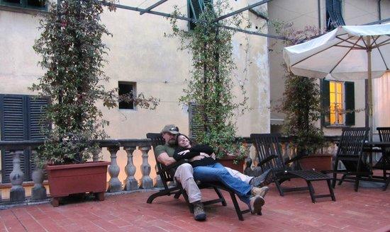 Relais San Lorenzo : Terrace