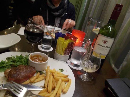 Maldron Hotel Parnell Square: Au cours du repas