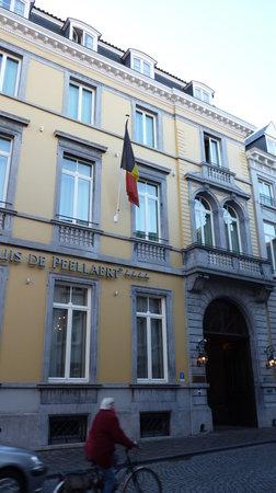 Oud Huis de Peellaert: Hotel entrance