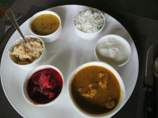 Grassroots Wayanad : lunch fare