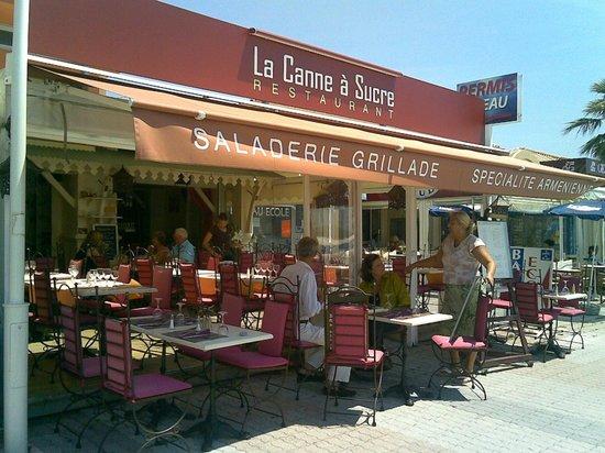 Terrasse picture of la canne a sucre saint raphael - Restaurants port santa lucia saint raphael ...