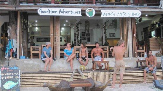Goodtime Adventures, Koh Tao: The Goodtime crew!