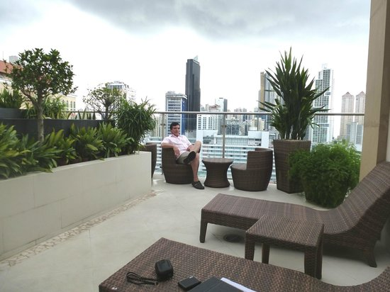 Hilton Garden Inn Panama: Area del Jacuzzi