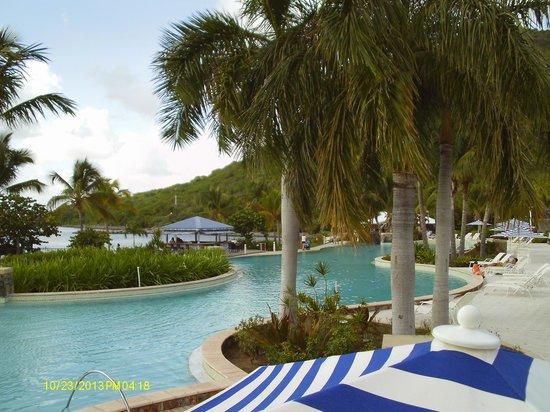 Hotel Riu Palace St Martin: Vue Piscine