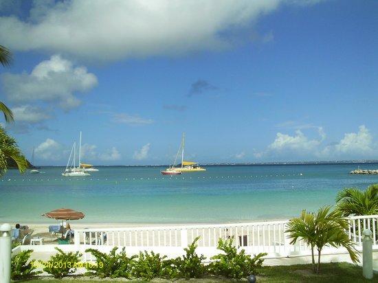 Hotel Riu Palace St Martin : Sunrise sur Anguilla