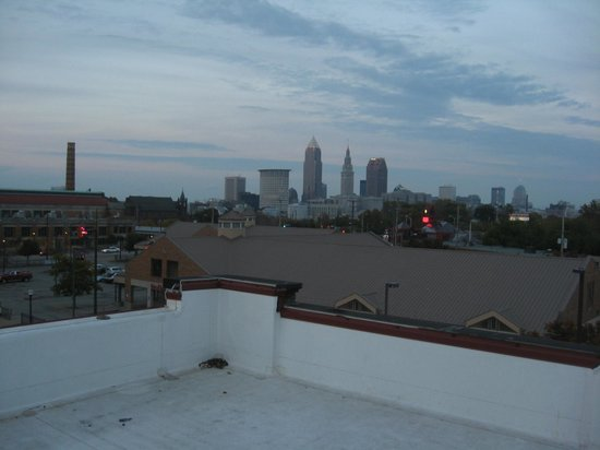 The Cleveland Hostel: View from rooftop deck