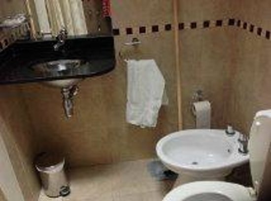 Saint James Hotel: Baño limpio, sin bañadera