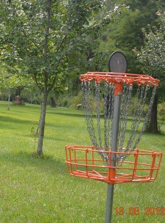 Iron Mountain Inn B&B: Wonderful Frisbie Golf Course nearby