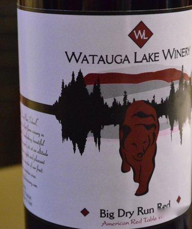 Iron Mountain Inn B&B: Watauga Lake Winery gives tours