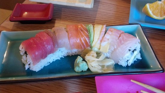 Wasabi Sushi Japanese Restaurant: Rainbow Roll