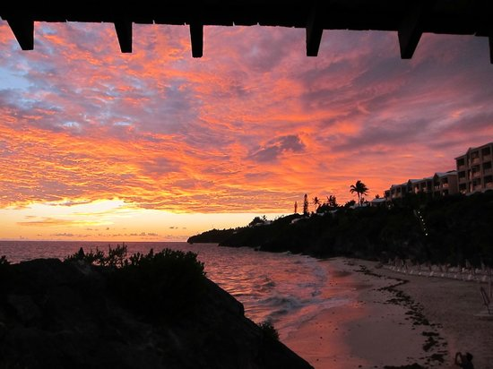 The sunset from Coconuts.