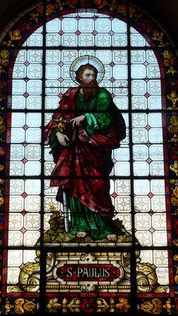 Catedral De San Bartolome De La Serena: Apostel-Fenster