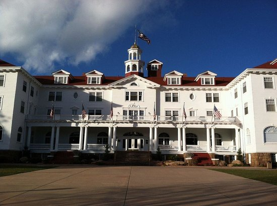 Stanley Hotel: Less scary in the daytime.