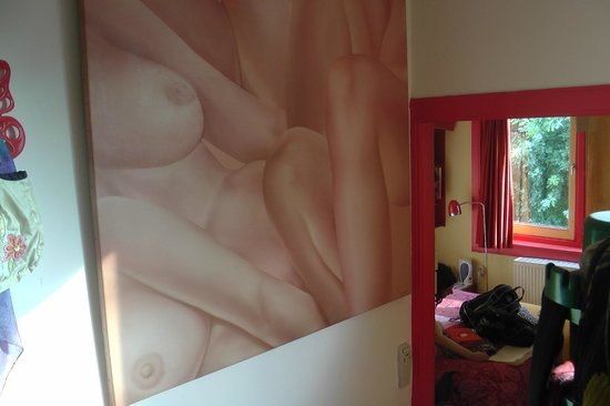 Xaviera Hollander's Happy House: Our room at Xaviera's