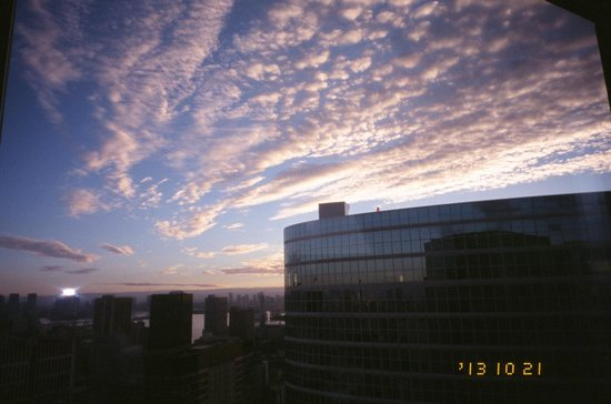 The Strings by InterContinental Tokyo: Good day on Oct 21 morning
