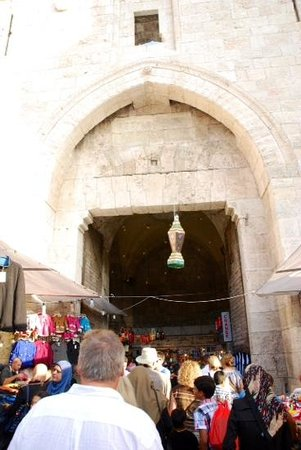 Grand Court Hotel: Nearby Damascus Gate
