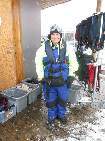 Saltstraumen: All  Suited Up and Ready to Go