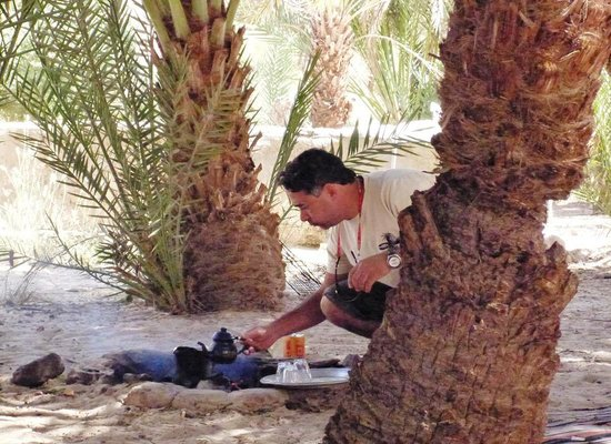 Sinai At Its Best Day Tours: Ashraf - Making lunch