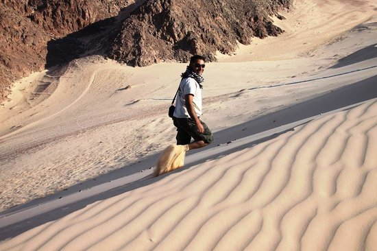 Sinai At Its Best Day Tours: Fine sand on the big dune